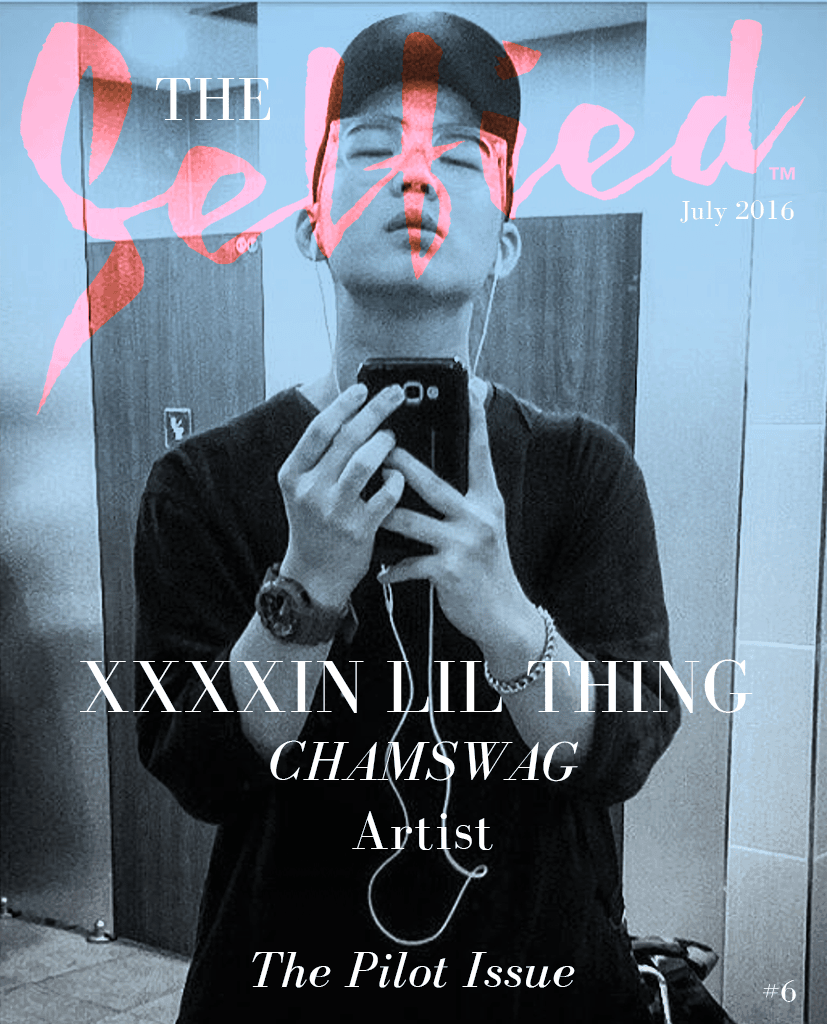 A young artist & rapper selfie from South Korea for the cover of The Selfied Magazine