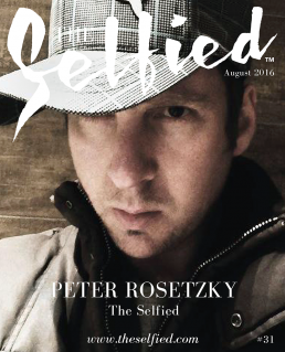 a selfie portrait of the founder and designer of The Selfied, Peter Rosetzky