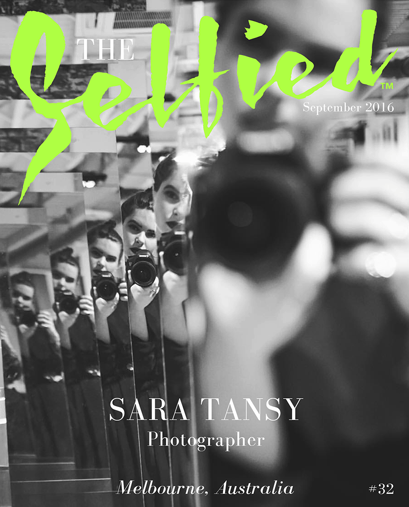 a selfie photo by Sara Tansy a photographer and Artist