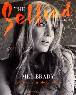Australian stylist, model and writer Mel Brady for the cover of The Selfied magazine