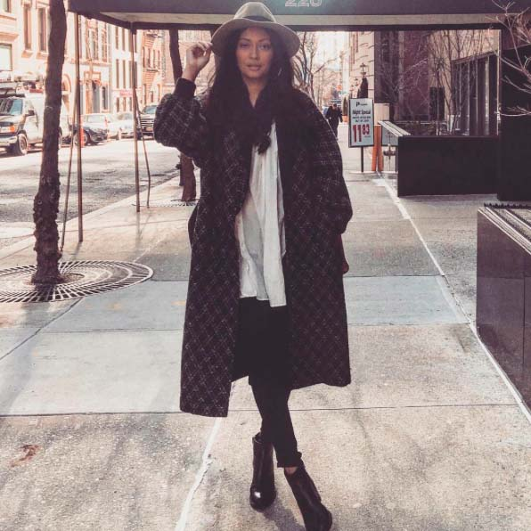 Alejandra Mancia on the streets of New York City