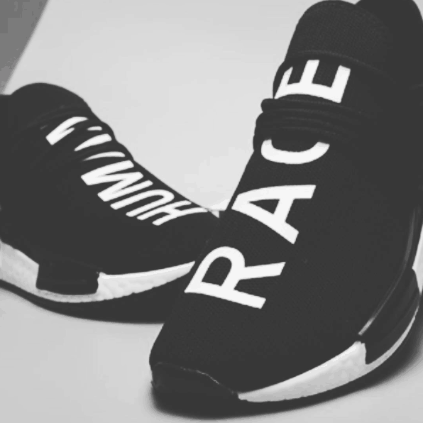 Human race shoes